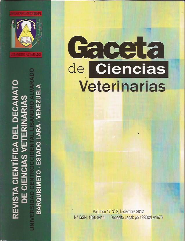 Gaceta de Ciencias Veterinarias