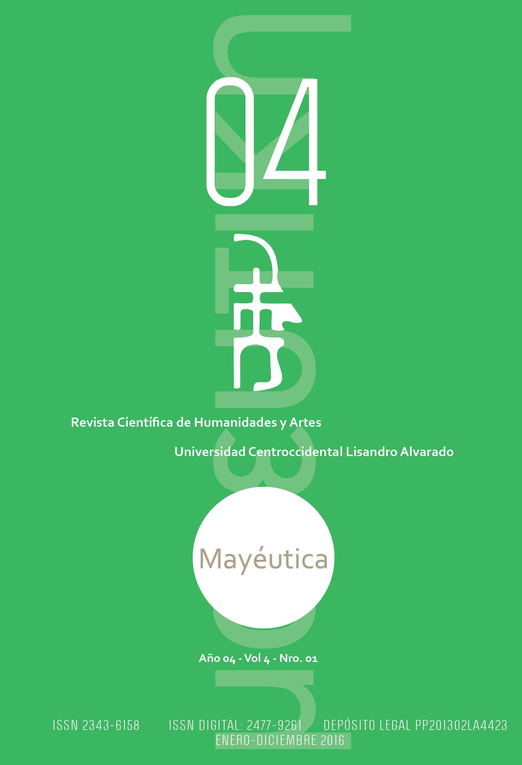 Mayéutica Revista Científica de Humanidades y Artes. Volumen 4