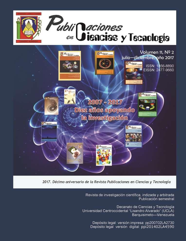 Publicaciones en Ciencias y Tecnología Vol 11 Nro 2  2017
