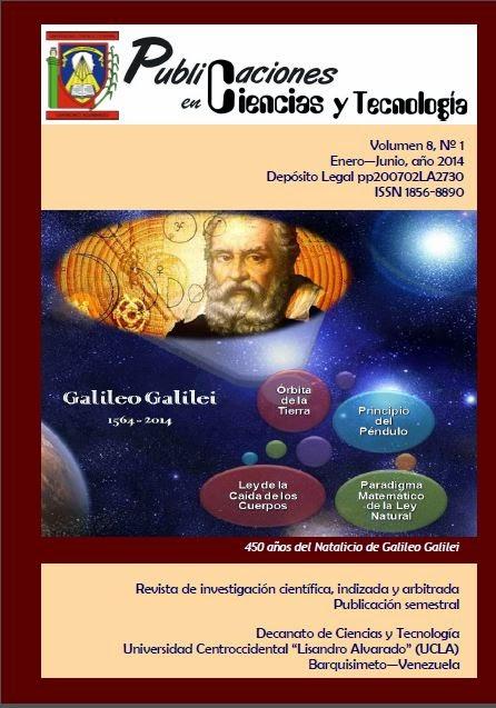 Publicaciones en Ciencias y Tecnología Vol 8 Nro 1 años 2014