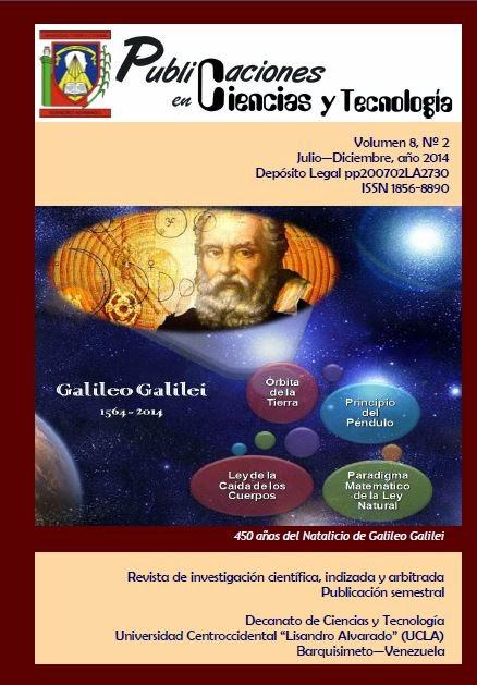 Publicaciones en Ciencias y Tecnología Vol 8 Nro 2 años 2014