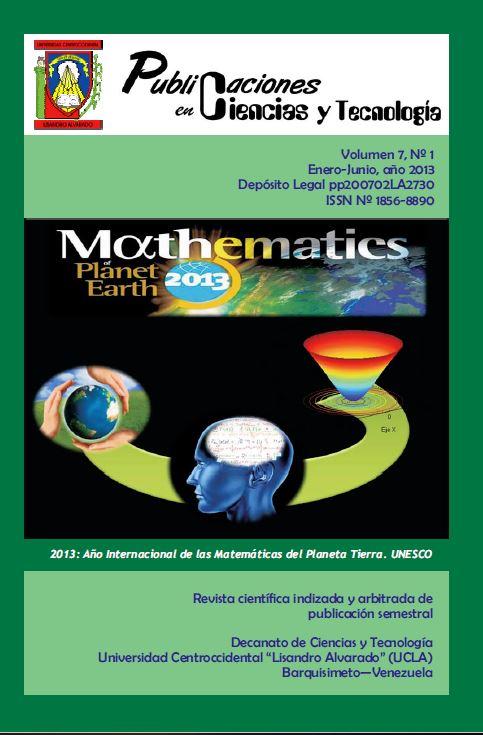Publicaciones en Ciencias y Tecnología Vol 7 Nro 1 2013
