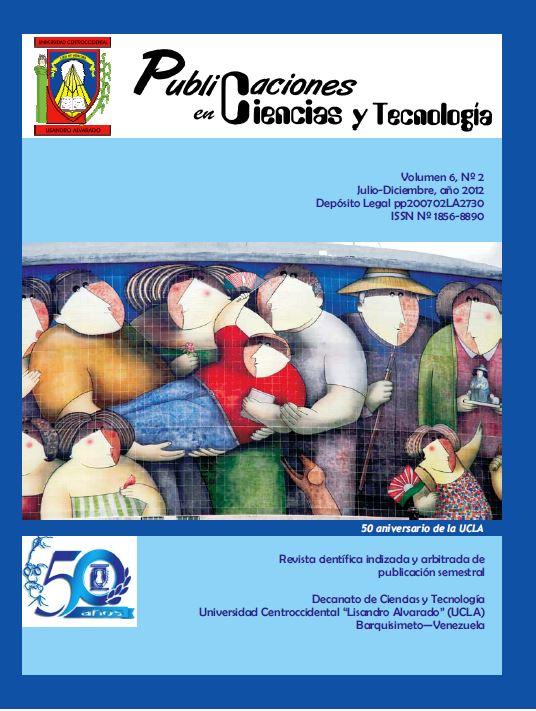Publicaciones en Ciencias y Tecnología Vol 6 Nro 2 2012