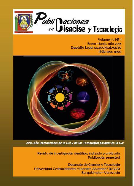 Publicaciones en Ciencias y Tecnologia Vol 9 nro 1 año 2015