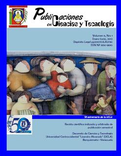 Publicaciones en Ciencias y Tecnologia Vol 6 nro 1 año 2012