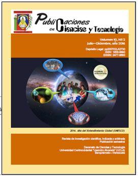 Publicaciones en Ciencias y Tecnologia Vol 10 nro 2 año 2016