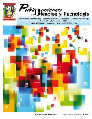 Publicaciones en Ciencias y Tecnologia Vol 5 nro 1 y 2 año 2011