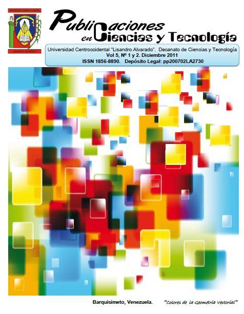 Publicaciones en Ciencias y Tecnologia Vol 5 nro 2 año 2011