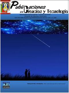 Publicaciones en Ciencias y Tecnologia Vol 3 nro 1 año 2009