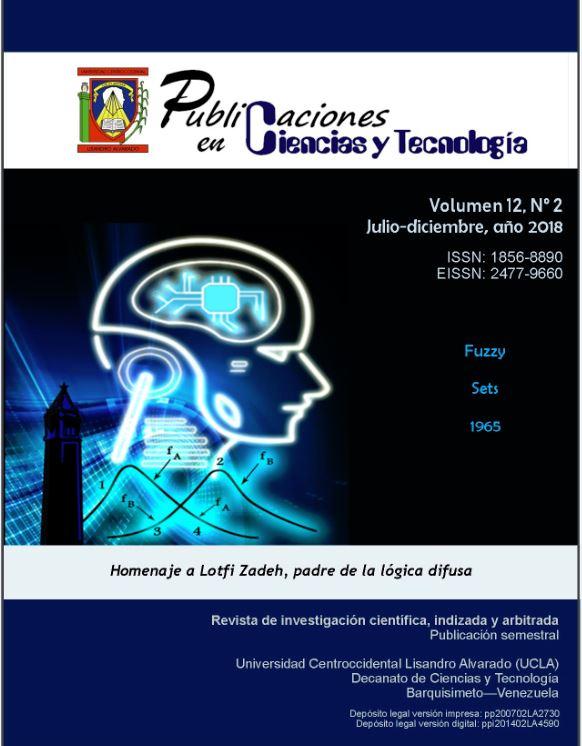 Publicaciones en Ciencias y Tecnologia Vol 12 nro 2 año 20189