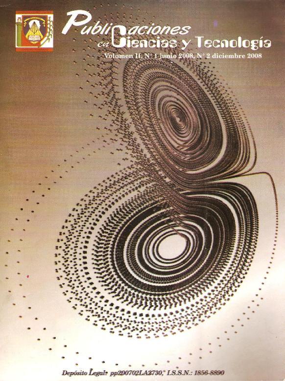 Publicaciones en Ciencias y Tecnología Vol 2 Nro 1 2008