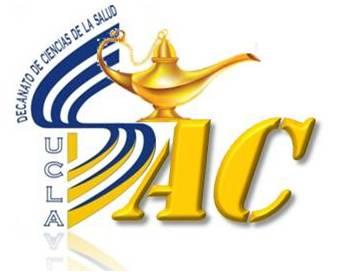 Este logo es de nuestro Decanato de Ciencias de la Salud que complementa nuestras palabras Arte y Cuidado